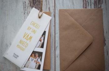Vintage svadba / oznámenie